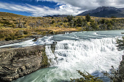 Falls In Patagonia Original by Timothy Hacker