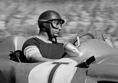 Zandvoort Photograph - Fangio Mercedes by Robert Van Es