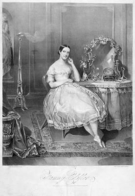 Dressing Room Painting - Fanny Elssler (1810-1884) by Granger