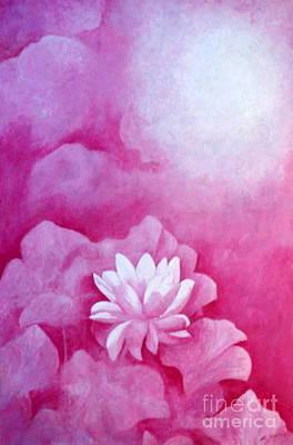 Fantasy Lotus Art Print