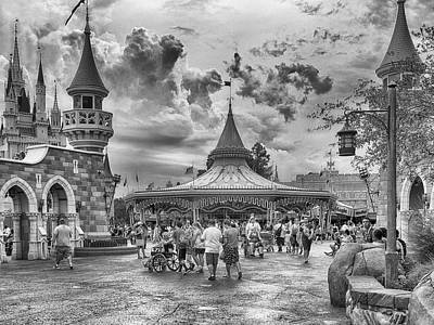 Photograph - Fantasyland by Howard Salmon