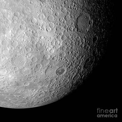 Far Side Photograph - Far Side Of The Moon, Artwork by Detlev van Ravenswaay