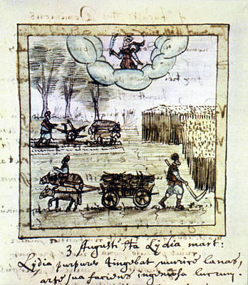 Farming, 17th Century Art Print