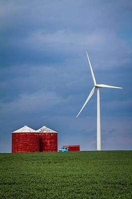 Photograph - Farming For Wind by Ron Pate