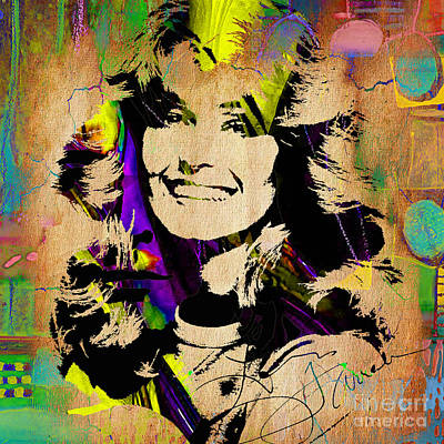 Charlies Angels Mixed Media - Farrah Fawcett Collection by Marvin Blaine