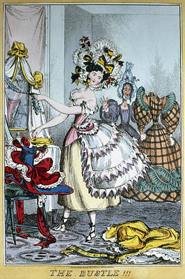 Fashion Bustle, C1830 Art Print