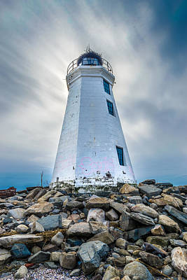 Photograph - Fayerweather Island Lighthouse by Randy Scherkenbach