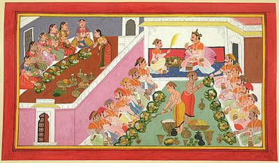 Banquet Photograph - Feasting by British Library