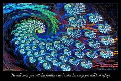 Digital Art - Feathers by Missy Gainer