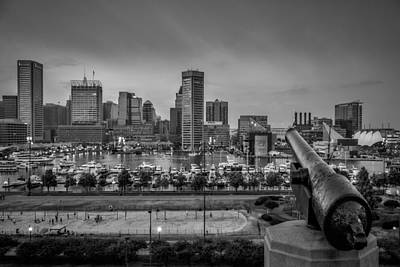 Photograph - Federal Hill In Baltimore Maryland by Susan Candelario