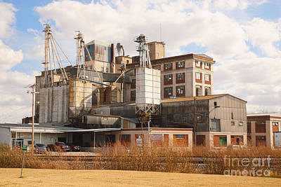 Photograph - Feed Mill by Charles Beeler