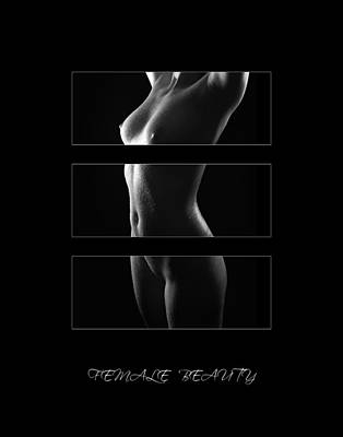 Nudes Photograph - Female Beauty 4 by Jochen Schoenfeld