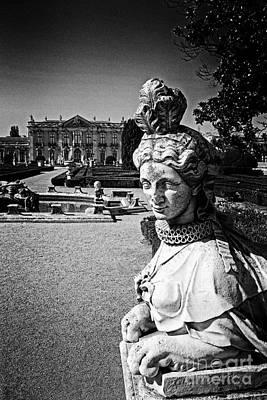 Baroque Photograph - Female Sphinx Statue In The Queluz Palace by Jose Elias - Sofia Pereira