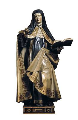 Statue Portrait Photograph - Fernandez, Gregorio 1576-1636. Saint by Everett