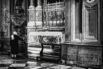Photograph - Ferrara Cathedral by Traven Milovich