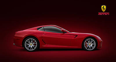 Sexy Digital Art - Ferrari 599 Gtb by Douglas Pittman