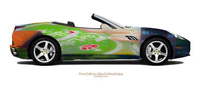 Ferrari California Carlsberg Esbjerg Original by Jan W Faul