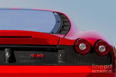 Photograph - Ferrari F430 by Dennis Hedberg