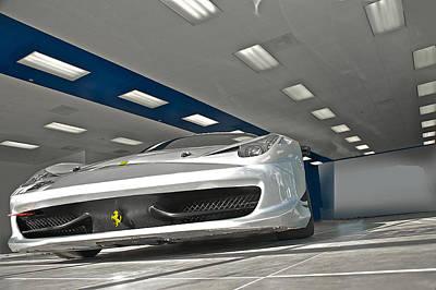 Soap Suds - Ferrari F458 Challenge Car II by Dave Koontz