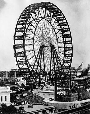 Cities Of The World Painting - Ferris Wheel, 1893 by Granger