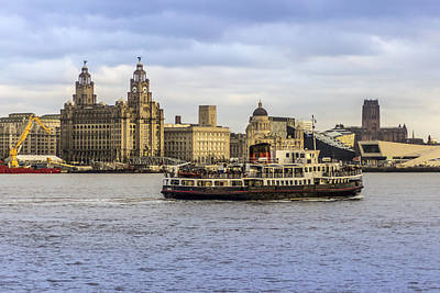 Typographic World - Ferry cross the Mersey by Paul Madden