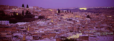 Fes Photograph - Fes, Morocco by Panoramic Images