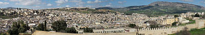 Fes Seen From South, Moulay Yacoub Art Print