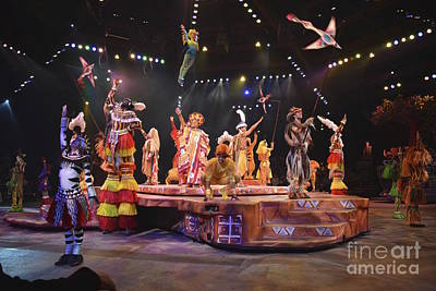 Photograph - Festival Of The Lion King Finale by Carol  Bradley
