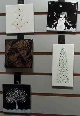Ceramic Art - Festive Decorative Tiles by Joyce Kerr