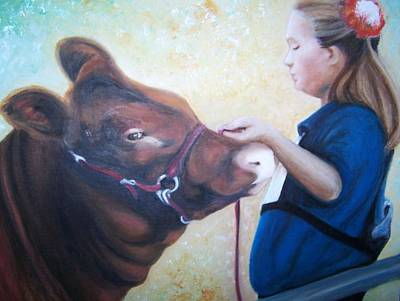 Painting - Ffa At The Fair by Martha Suhocke