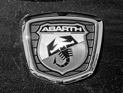 Photograph - Fiat Abarth Emblem by Jill Reger