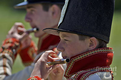 Photograph - Fife And Drum Corps by JT Lewis