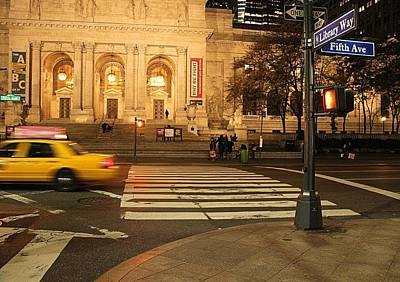 College Avenue Photograph - Fifth Avenue by Dan Sproul