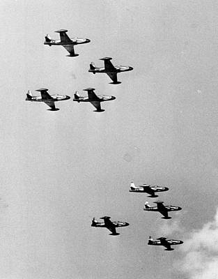 Merriment Photograph - Fighter Jets by Retro Images Archive
