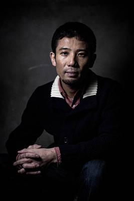 Photograph - Film Director Shuhei Morita Portrait by Chris Mcgrath