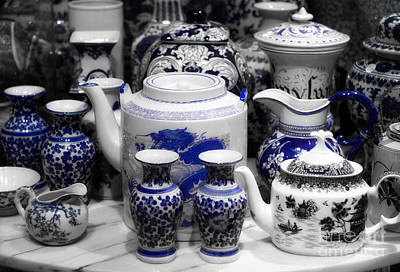 Photograph - Fine China Collection by Charline Xia
