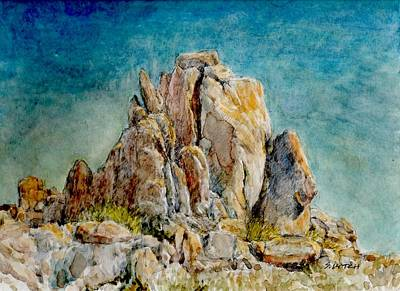 Painting - Finger Rocks by Sandra Lytch