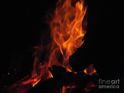 Photograph - Fire 4 by Melissa Lightner
