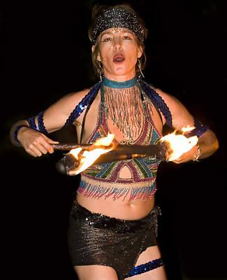 Fire Dance Art Print by Don Ewing