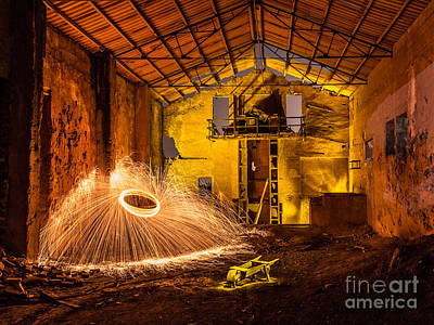 Photograph - Fire by Eugenio Moya
