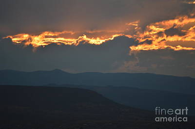 Photograph - Fire In The Sky by Brian Boyle