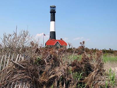 Photograph - Fire Island Lighthouse by Ed Weidman