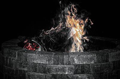 Fire Pit Art Print