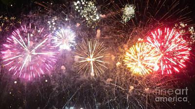 Photograph - Fireworks 5 by France Laliberte