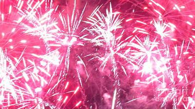 Photograph - Fireworks 9 by France Laliberte