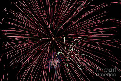 Fireworks Print by Jason Meyer