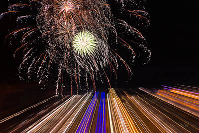 Photograph - Fireworks Loano 2013 3405 - Ph Enrico Pelos by Enrico Pelos