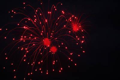 Photograph - Fireworks by Rowana Ray