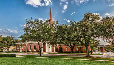 Photograph - First Baptist Of Georgetown by Mike Covington