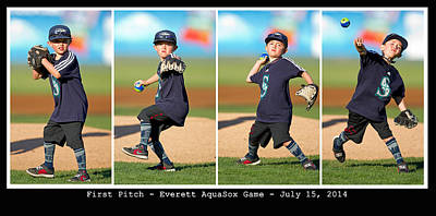 Photograph - First Pitch by Shari Sommerfeld